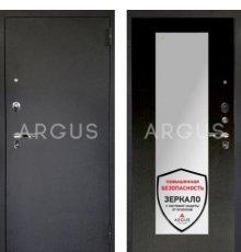 Дверь Аргус 1 Люкс ПРО Милли Венге  / Черный Шелк
