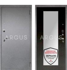 Дверь Аргус 1 Люкс ПРО Милли Венге / Серебро Антик