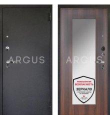 Дверь Аргус 1 Люкс ПРО Милли Коньяк Калифорния  / Черный Шелк
