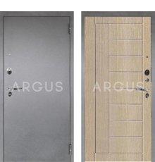 Дверь Аргус 1 Люкс ПРО Фриза Капучино / Серебро Антик