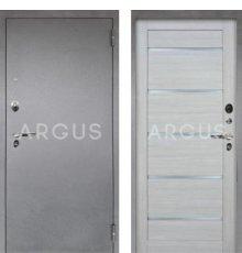 Дверь Аргус Люкс ПРО Александра Буксус / Серебро Антик