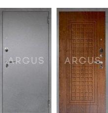 Дверь Аргус Люкс ПРО Альма Дуб Золотой / Серебро Антик