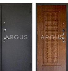 Дверь Аргус Люкс ПРО Альма Дуб Золотой / Черный Шелк
